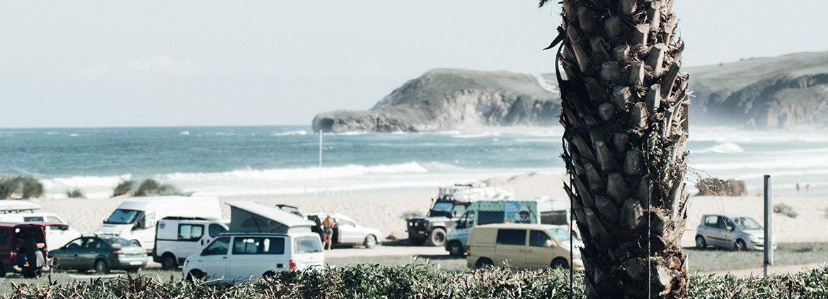 Surfing in North Spain – Camper Van Life with a view of the Pyrenees