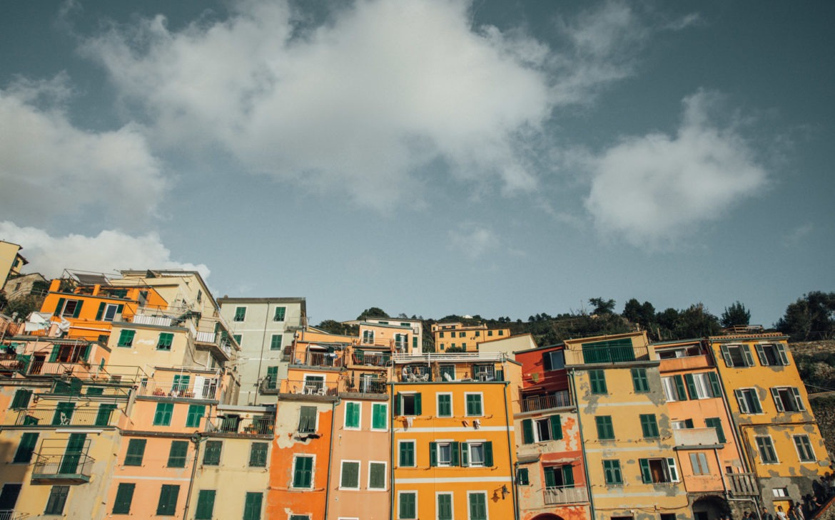 Cinque Terre Villages – Colorful Italy!