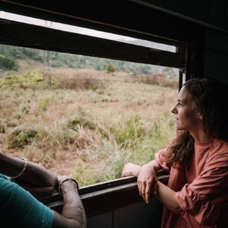 "🚂 On our blog we say ""Taking the train in Sri Lanka feels like joining the society"". And that's very true.  ⠀ This lady was extremely nice and kept smiling at us.  Together we sat there and enjoyed the fresh air of the open window. 🌬 ⠀ #wavesnbackpack #srilankatrip #wonderlustsrilanka #visitsrilanka #srilankaforu #srilankadaily #exploresrilanka #discoversrilanka #hiriketiya #indianocean #feelsrilanka #srilankatoday #srilankanature #saltysoul #surfer #surfingsrilanka #surfingsworld #surfinsta #srilanka #srilankatravel #backpackingasia #discoverasia #indianocean"